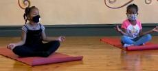 Greater Hudson Promise Neighborhood kids yoga class